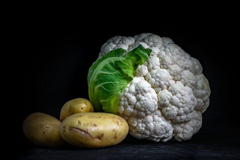 Aardappels en bloemkool