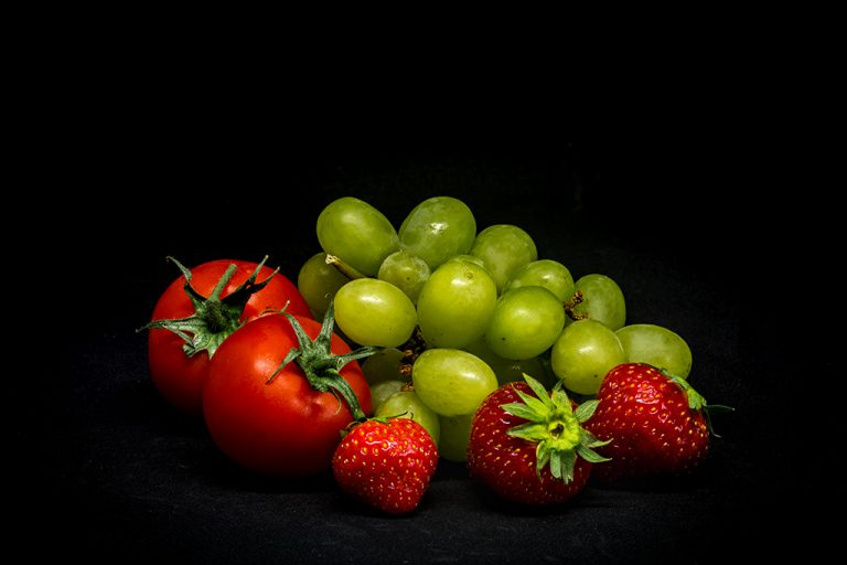 tomatoes grapes strawberries