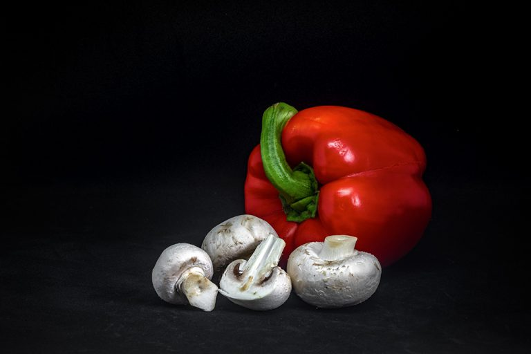 Paprika champignons